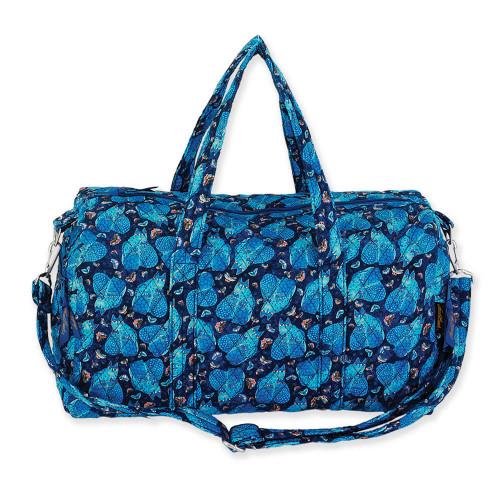 "Indigo Cats Weekender Bag   18"" x 7.5"" x 10.5"""