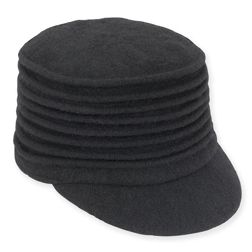 Soft Wool Accordion Cadet | Black