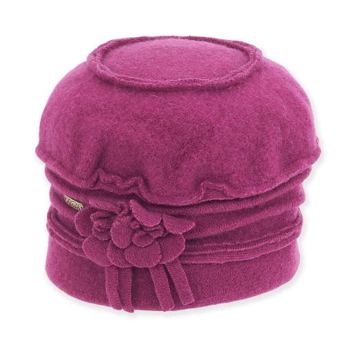 Soft Wool Cloche I Berry