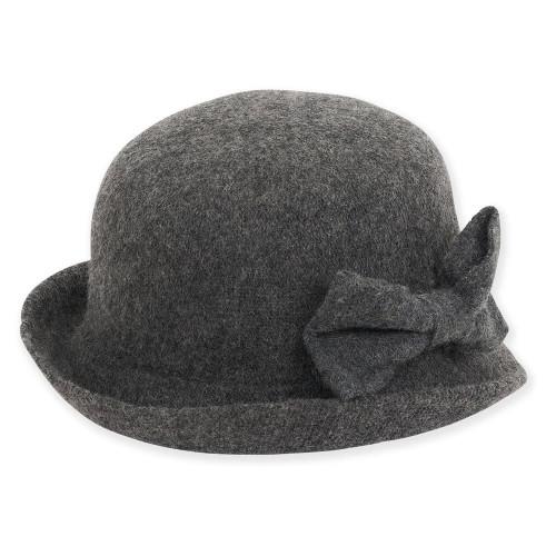 Soft Wool Cloche I Grey