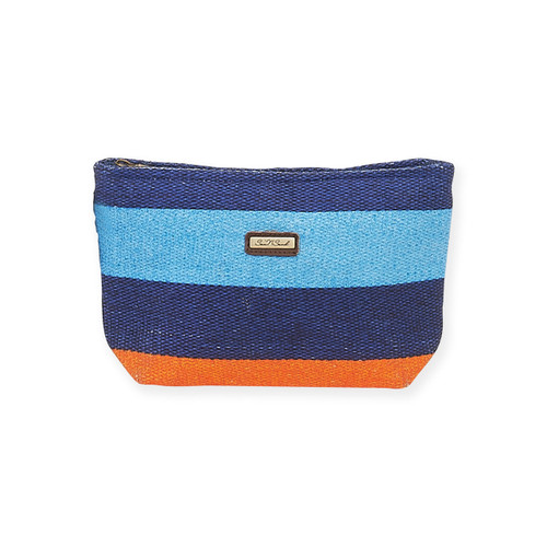 "ALCOVA COSMETIC BAG | Zip Top | 9.5""x 2.5""x 6"""