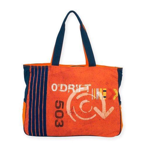 "ORANGE DIVER OVERSIZED TOTE | 18""x 5.5""x 15"""
