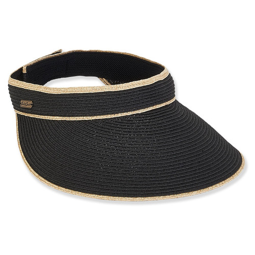 PAPER BRAID VISOR BRIM 4.5""