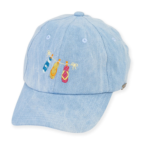 "BASEBALL HAT W/EMB ICONS  BRIM 2.75""  ICON"
