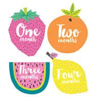 Little Tutti Frutti Monthly Stickers