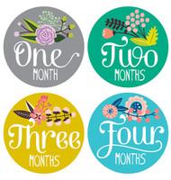 Little Artist Monthly Stickers