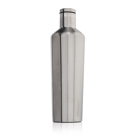 Brushed Steel 25oz. Canteen