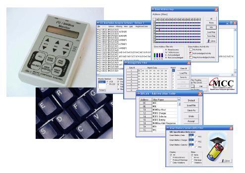I2C Bus/SMBus Monitor + Software Kit
