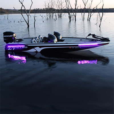high output uv blacklight kit - led night fishing lights, Reel Combo