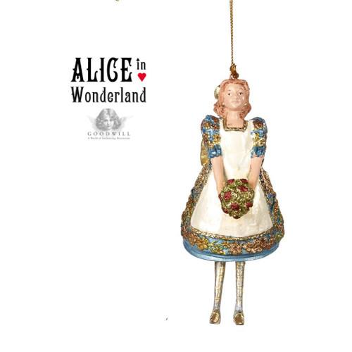 Alice In Wonderland Tree Ornament