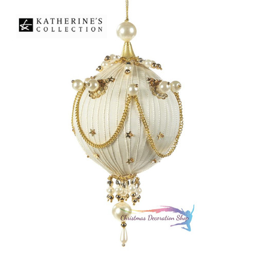 Katherine's Collection 2017 Royal Ribbon Bauble