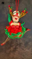 Katherine's Collection Christmas Show Girl Decoration