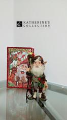 Katherine's Collection Mushroom Elf Display