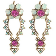 Michal Negrin Hook Earrings Swarovski