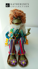 Katherine's Collection Frog Doll