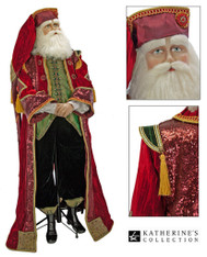 Life size Nutcracker Santa Doll