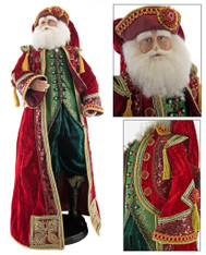 Katherine's Collection Nutcracker Santa