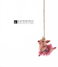 Katherine's Collection Piglet Ballerina Decoration