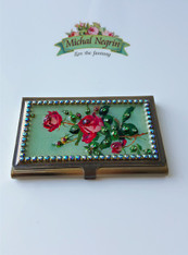 Michal Negrin Card Holder Swarovski