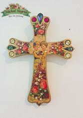 Friendship Wall Cross Swarovski