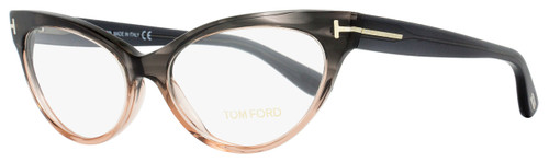 Tom Ford Cateye Eyeglasses TF5317 020 Size: 54mm Gray Melange/Peach FT5317