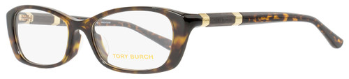 Tory Burch Rectangular Eyeglasses TY2054A 1378 Size: 52mm Havana 2054