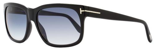 Tom Ford Wayfarer Sunglasses TF376 Barbara 02N Shiny Black FT0376