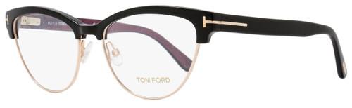 Tom Ford Cateye Eyeglasses TF5365 005 Size: 54mm Black/Gold FT5365