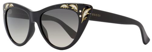 Gucci Cateye Sunglasses GG3806S 807DX Black 3806