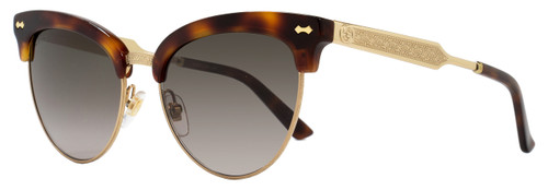 Gucci Cateye Sunglasses GG4283S CRXHA Dark Havana/Gold 4283