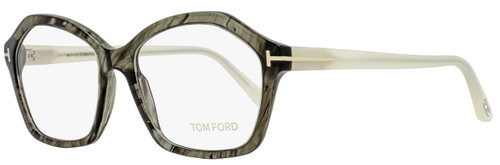Tom Ford Butterfly Eyeglasses TF5361 020 Size: 54mm Transparent Gray/Pearl Opal FT5361