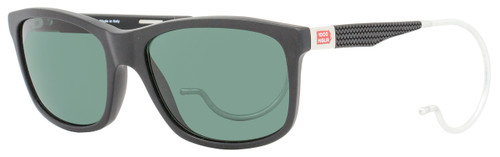 Mille Miglia by Chopard Rectangular Sunglasses SMM156 703P Matte Black Polarized 156