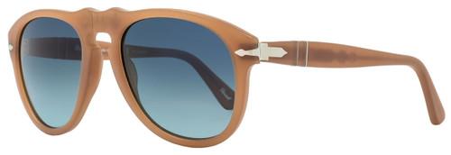 Persol Oval Sunglasses PO649 9018/S3 Size: 52 mm Ambra Antique Polarized 649