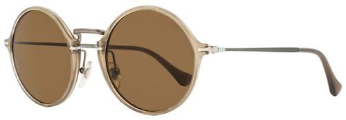 Persol Round Sunglasses PO3091SM 952/57 Size: 49 mm Beige Polarized 3091