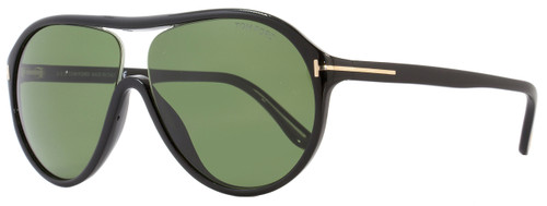 Tom Ford Aviator Sunglasses TF443 Edison 01N Black FT0443