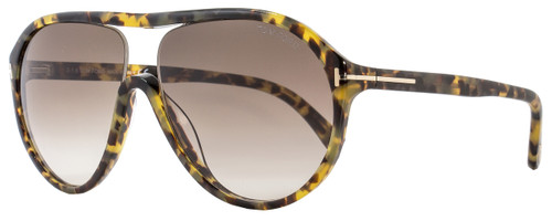 Tom Ford Aviator Sunglasses TF443 Edison 53F Tortoise FT0443