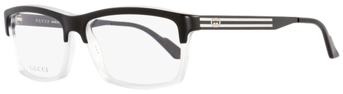 Gucci Rectangular Eyeglasses GG3517 WW2 Size: 53mm Black/Crystal 3517
