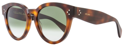 Celine Oval Sunglasses CL41049S 05LXM Havana 41049