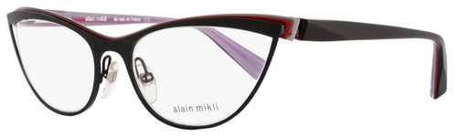 Alain Mikli Cateye Eyeglasses A02003 M0JG Size: 56mm Black/Multi 2003