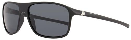Tag Heuer Square Sunglasses TH6041 27° 101 Matte Black 6041