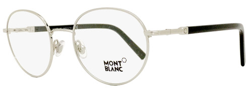 Montblanc Oval Eyeglasses MB557 016 Size: 50mm Palladium/Black 557