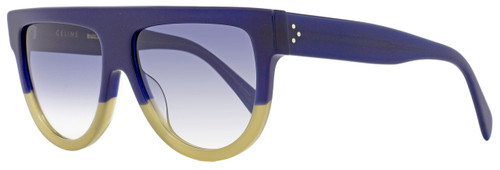 Celine Square Sunglasses CL41026S FV6DV Blue/Sand 41026