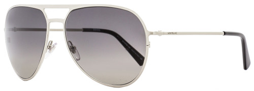 Montblanc Aviator Sunglasses MB546S 16B Palladium/Black 546