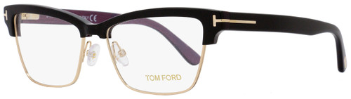 Tom Ford Rectangular Eyeglasses TF5364 005 Size: 53mm Black/Gold FT5364