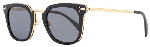 Celine Square Sunglasses CL41402S ANWG8 Black/Gold 41402