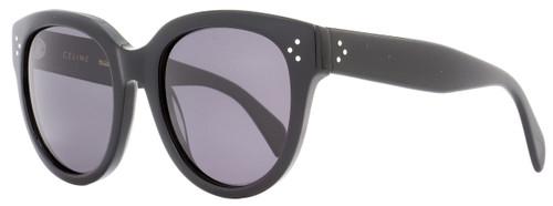Celine Oval Sunglasses CL41755S 8073H Black Polarized 41755