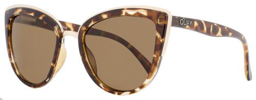 Quay Cateye Sunglasses QW000065 My Girl TORT-BRN Tortoise/Gold 065