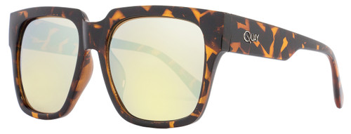 Quay Square Sunglasses QW000071 On The Prowl TORT-GOLD Tortoise 071