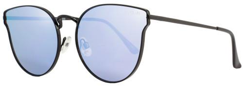 Quay Cateye Sunglasses QW000133 All My Love BLK-PURP Black 133