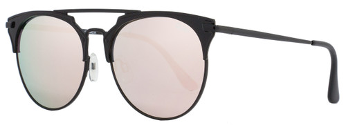 Quay Oval Sunglasses QW000144 I'm Jealous BLK-PNK Shiny Black 144